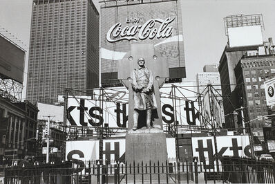 Lee Friedlander, 'New York City (Father Duffy)', 1974