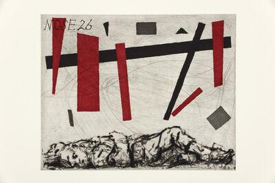 William Kentridge, 'Nose 26', 2009