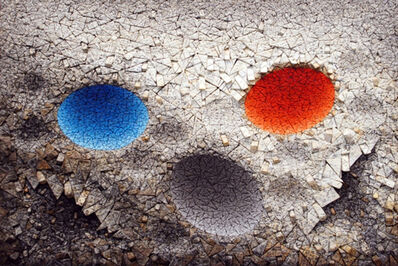 Chun Kwang Young, 'Aggregation11-MY039 BLUE & RED', 2011