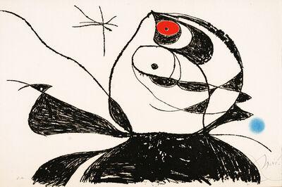 Joan Miró, 'Georges Duthuit (D934)', 1976