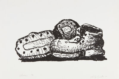 Philip Guston, 'Shoes', 1980
