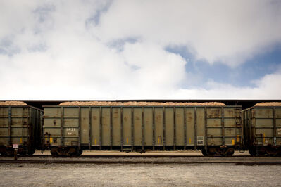 Forest McMullin, 'Late Harvest: Train Cars, Allendale, South Carolina', 2016-printed 2018