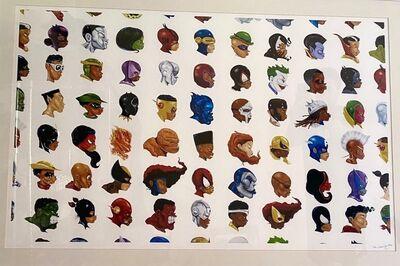 Hebru Brantley, 'Negro Mythos Series', 2016