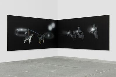Tala Madani, 'Corner Projection (Training)', 2019