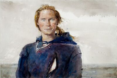 Andrew Wyeth, 'Blue Eyed Susan', 1977