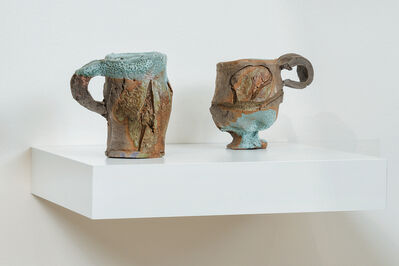 Peter Voulkos, 'Two Cups', 1978