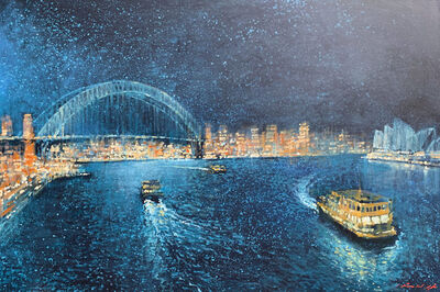 David Hinchliffe, 'Starry Starry Night', ca. 2019