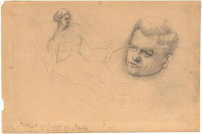 Arshile Gorky, 'Portrait of Schary', circa 1938-42