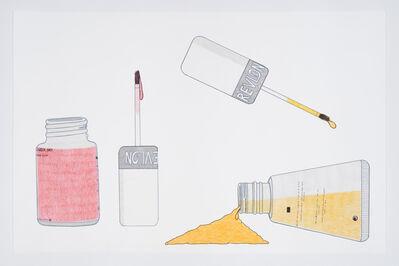 Nicotye Samayualie, 'Untitled (Revlon Nail Polish)', 2018
