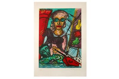 Malcolm Morley, 'Troyan Cavalcade'