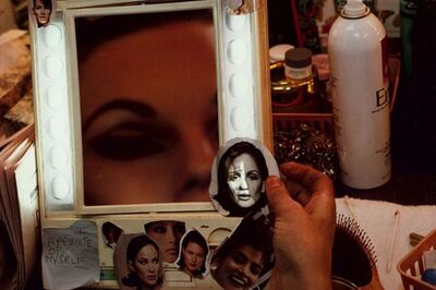 Lauren Greenfield, 'Showgirl Anne-Margaret in Her Dressing Room at the Stardust, Las Vegas, Nevada, 1995', 1995