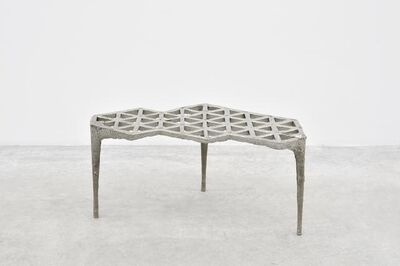 Max Lamb, 'Pewter Stool', 2014