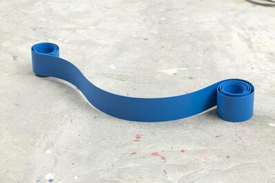 Ana Elena Garuz, 'Blue Ribbon No.4', 2016