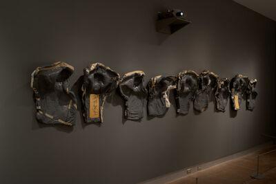 Shirley Klinghoffer, 'Wall of original hospital molds ', 2015
