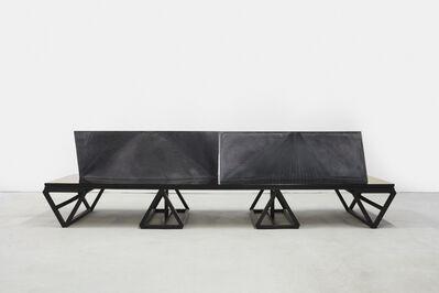 Julian Hoeber, 'Double Curved Wall ', 2015
