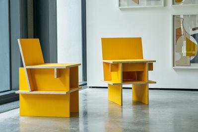 Mateo López, 'Sillas Núcleo (two chairs)', 2020