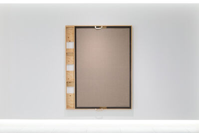 Noriyuki Haraguchi 原口 典之, 'Canvas Crate / Canvas 1', 2020