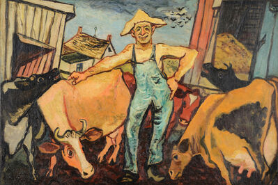Gregorio Prestopino, 'The Happy Farmer', ca. 1935-40