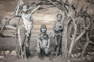 Terri Gold, 'Hamar Family in the Omo Valley, Ethiopia', 2014