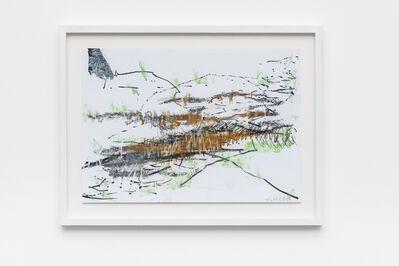 Sabine Moritz, 'Field I (brown/green)', 2017