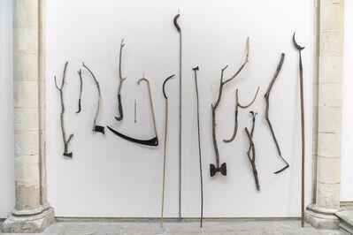 Marcelo Viquez, 'Sin título (Nuestras armas no hacen daño) ', 2019