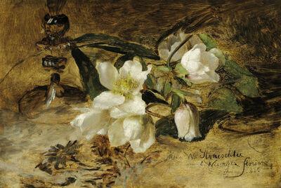 Olga Wisinger-Florian, 'Snow Roses', 1885