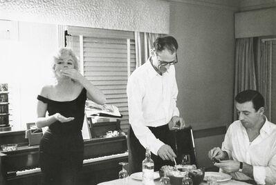 Bruce Davidson, 'Marilyn Monroe, Arthur Miller and Yves Montand, Beverly Hills Hotel', 1960/1960