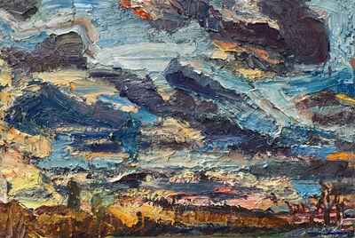 Lynette Lombard, 'Winter Sky, Green Oaks', 2021