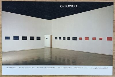 On Kawara, 'Original Vintage Exhibition Poster', 1977