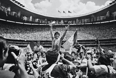 David Yarrow, 'Maradona', 1986