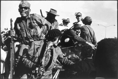 Burt Glinn, 'Fidel Castro Entering Havana', 1959