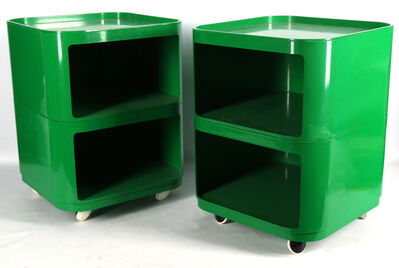 KARTEL, 'A pair of mid 20th century bedside cabinets'