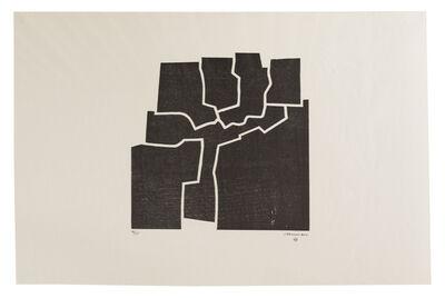 Eduardo Chillida, 'Beltza V', 1969