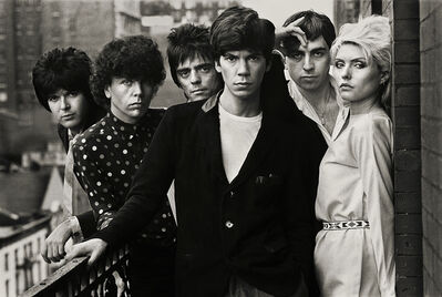Norman Seeff, 'Blondie, Chelsea Hotel II, NYC', 1979