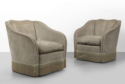 Fede Cheti, 'A pair of armchairs', circa 1953