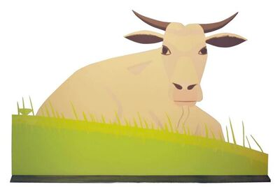 Alex Katz, 'Cow',  2006