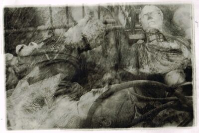 "Deborah Turbeville, 'Statues taken down in the entrance façade in the Marble Courtyard, from ""Unseen Versailles""', 1982"