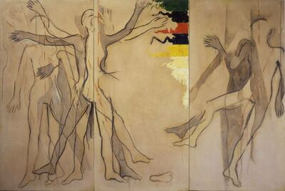 Mario Schifano, 'The Body in Motion and in Equilibrium (Corpo in moto e in equilibrio)', 1963