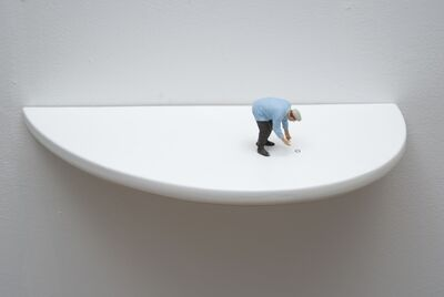 Liliana Porter, 'To Find It II (man with brown pants)', 2011