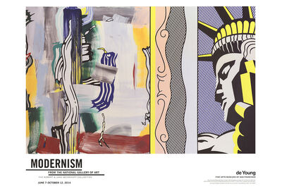 Roy Lichtenstein, 'Painting with Statue of Liberty', 2014