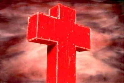 Andres Serrano, 'Blood Cross', 1985