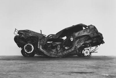 Richard Learoyd, 'Crashed, burned and rolled (1)', 2017