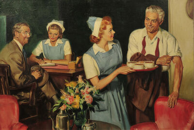 Mortimer Jr. Wilson, 'American Red Cross at Work', 1943
