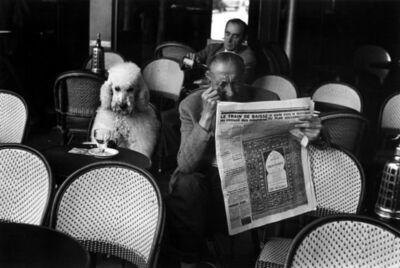 Edouard Boubat, 'Paris, café les deux magots', 1953