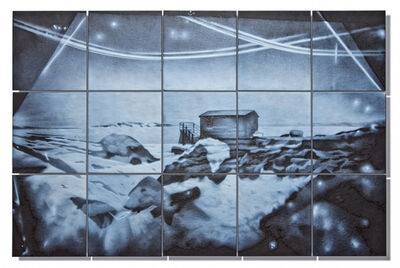 April Surgent, 'TO IMAGINE MYSELF HERE IS ALMOST AN IMPOSSIBILITY', 2015