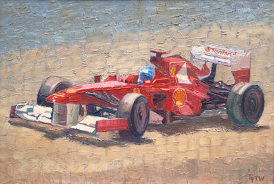 Pip Todd-Warmoth, 'Ferrari Hits the Sun', 2016