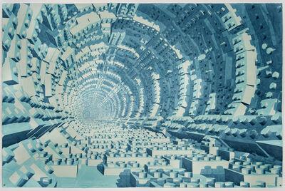 Dagoberto Rodríguez, 'Interior de Lego Azul', 2019