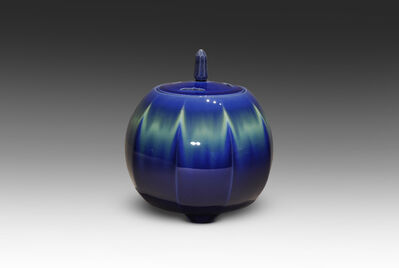 Tokuda Yasokichi III, 'Incense Burner with Chamfering', 2005