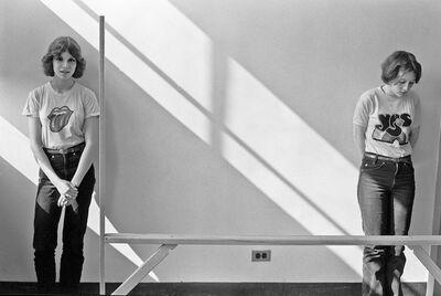 Joseph Szabo, 'Marianne & Mary Kay', 1976