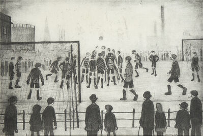 Laurence Stephen Lowry, 'The Football Match'